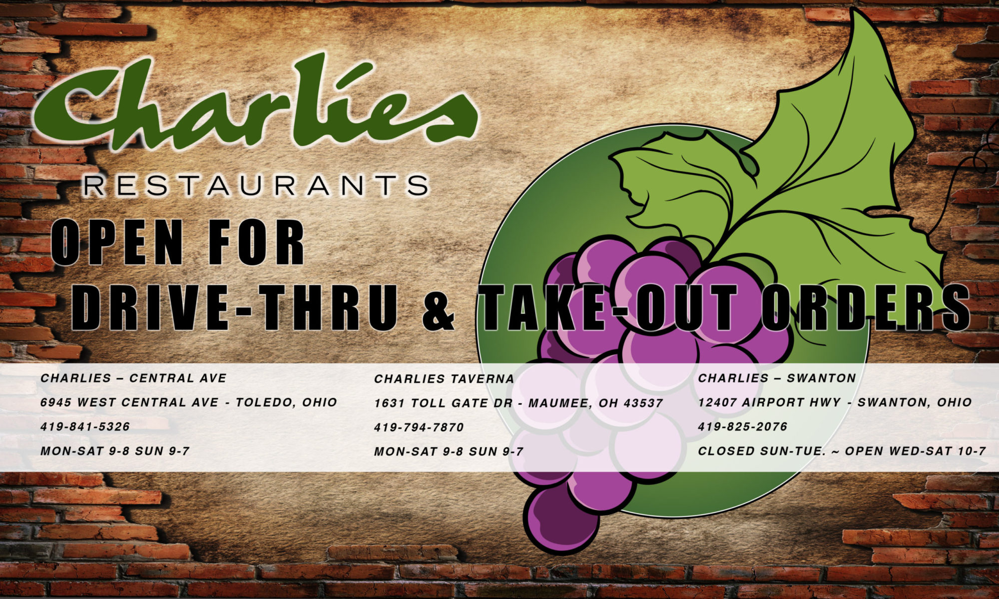 Charlies Restaurants